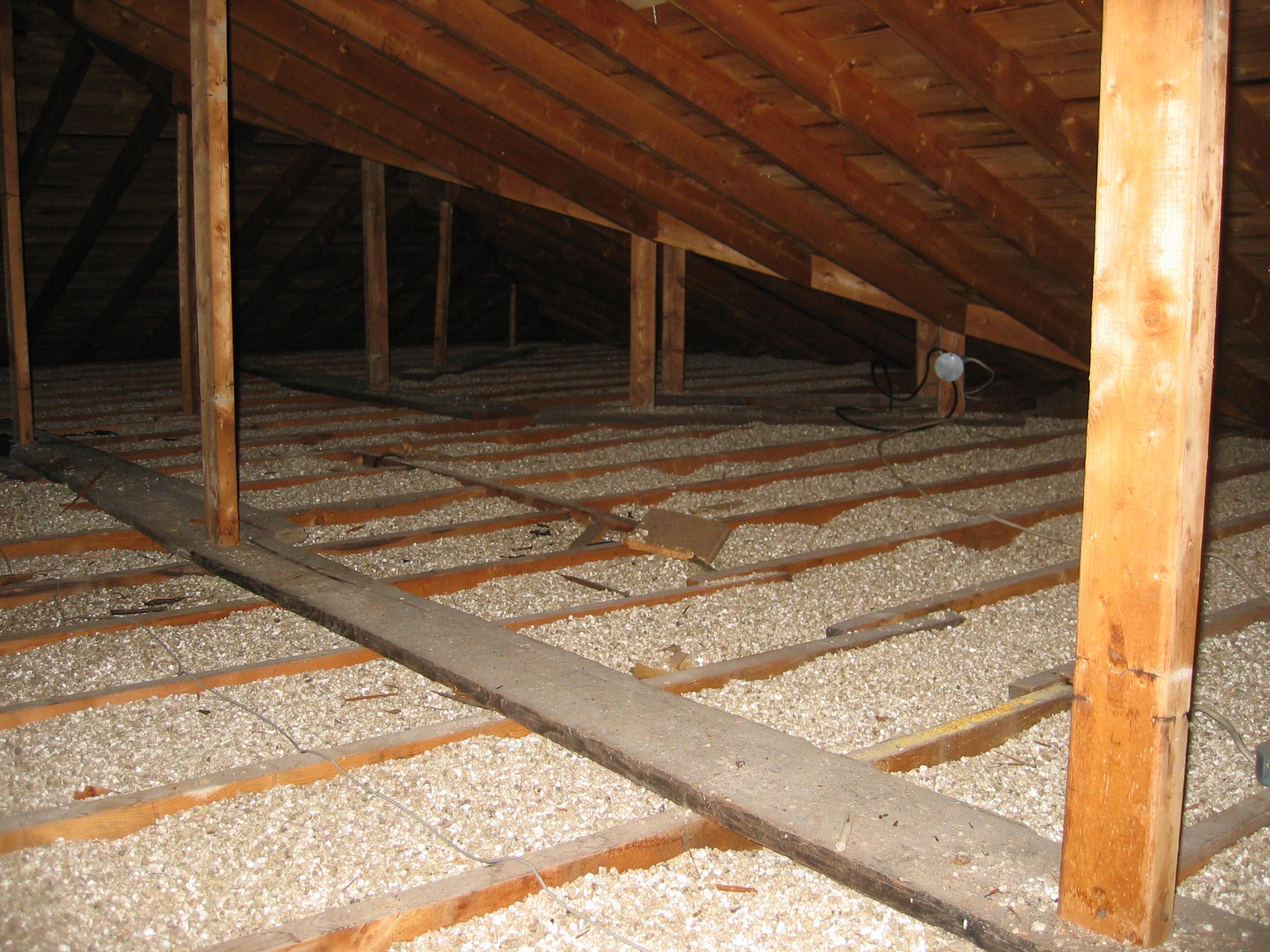 Vermiculite contaminé