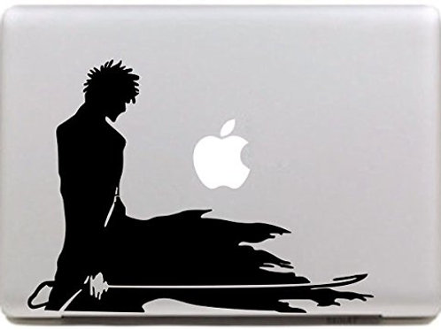 "Adesivo di ""Guerriero"" in vinile per Apple Mac Macbook"