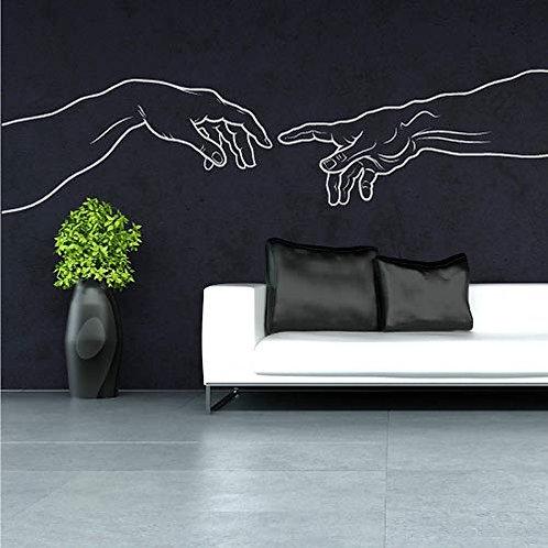 Adesivo murale Michelangelo 100x75cm Adesivo4You