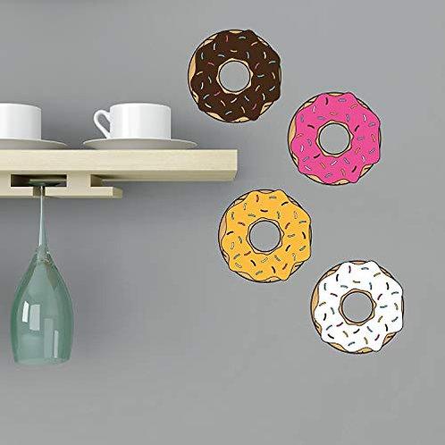 """Set Adesivo da muro""""donuts"""" 30x45cm Adesivo4you"""