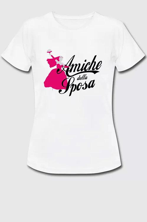 """T-shirt """"amiche della sposa"""""""