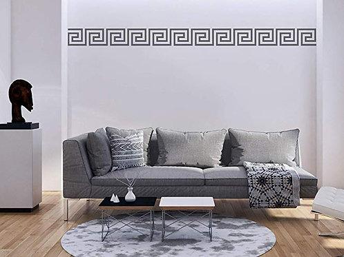Adesivo murale stile Greco 120x5cm Adesivo4You.com