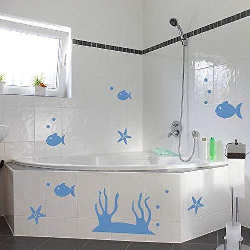Set Adesivi da bagno 30x29 cm Adesivo4You.com