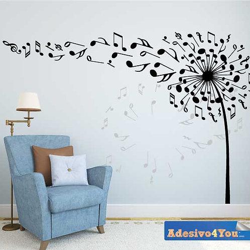 Adesivo Murale CUOR DI LEONE Design Wall sticker.