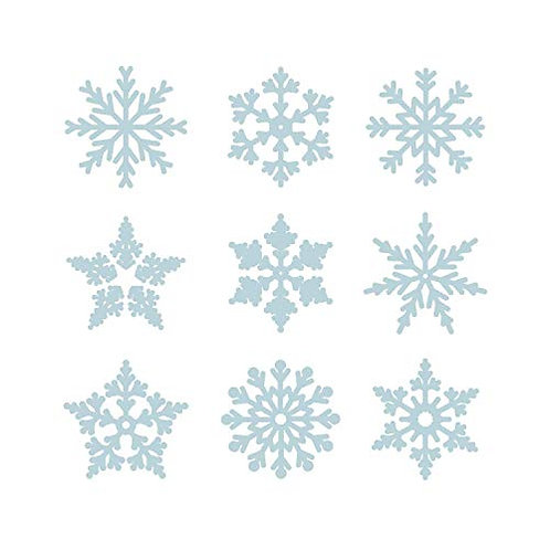 "Set adesivi murali""fiocchi di neve"" 30x30cm Adesivo4you"