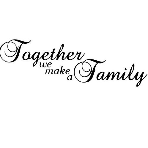 Adesivo Murale TOGETHER Design Wall sticker. Adesivo4You