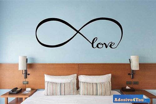 Love Infinity Adesivo Murale Amore infinito