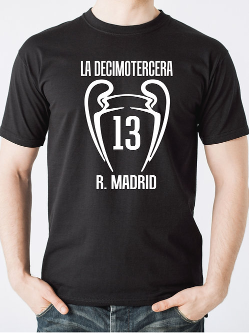 T-shirt 13° Champions League Real Madrid