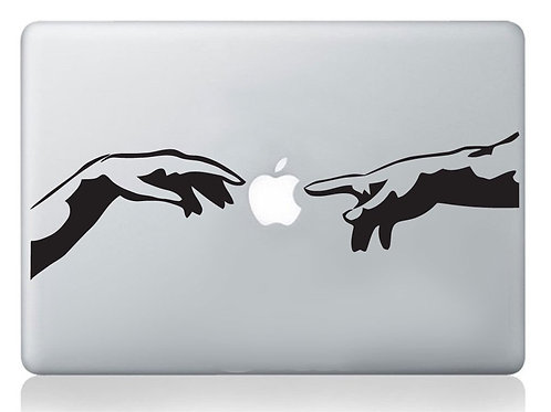 "Adesivo di ""Michelangelo"" in vinile per Apple Mac Macbook"