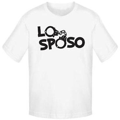 "T-shirt ""lo sposo"""