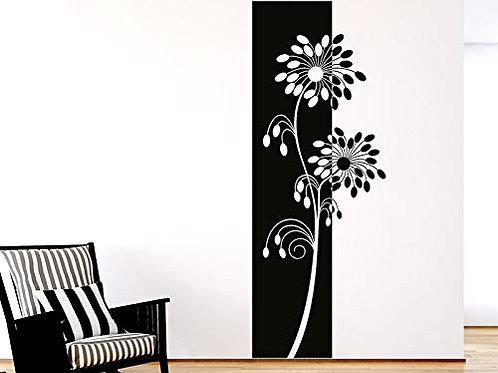 Adesivo Murale con motivo a Pianta 45x120cm Adesivo4You.com