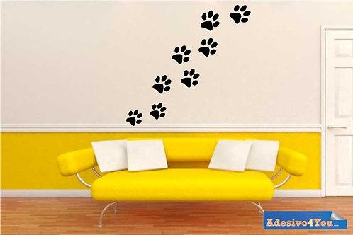Adesivo Murale ZAMPINE Design Wall sticker.