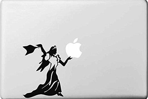 "Adesivo di ""Principessa"" in vinile per Apple Mac Macbook"