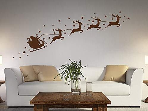 Adesivo Murale per il Natale 90x33cm Adesivo4You.com