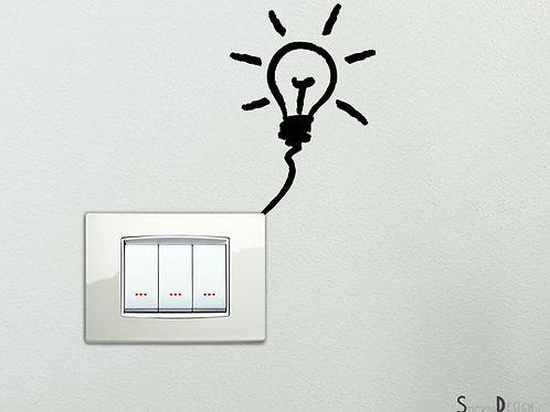 Adesivi vinile decorativo wall decor sticker per interruttore, Adesivo4You