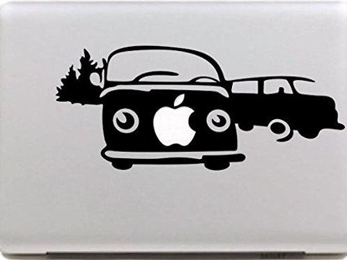 """Adesivo di """"volkswagen"""" in vinile per Apple Mac Macbook"""