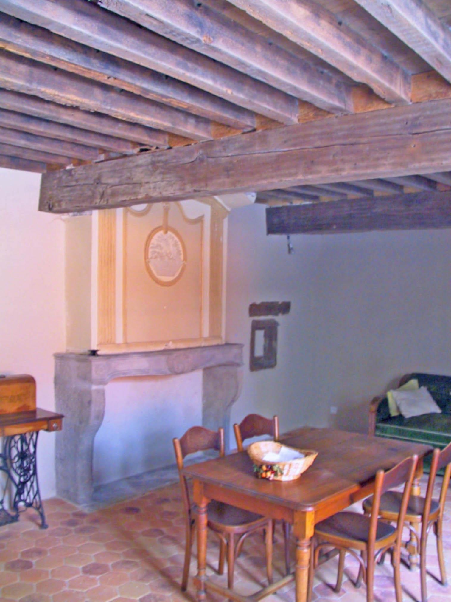 Restauration ancienne cheminée