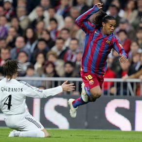 Ronaldinho, la conquista del Bernabéu