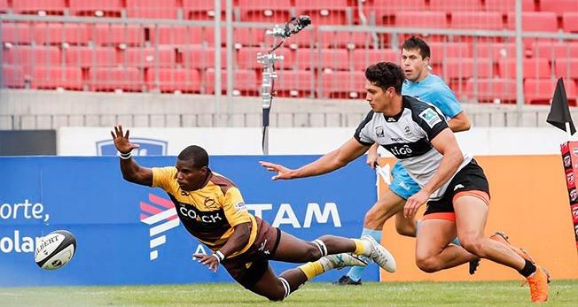 Arley Urrutia es una de las piezas claves de Cafeteros Pro en la Superliga de Rugby