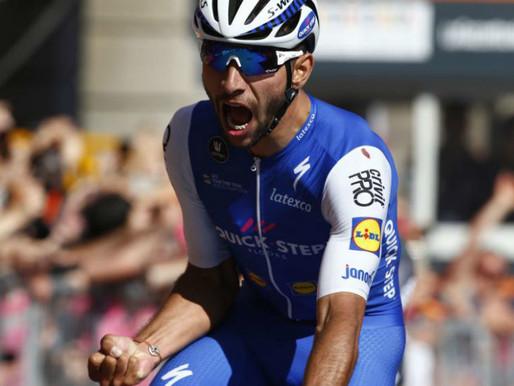 Fernando Gaviria: el primer Giro