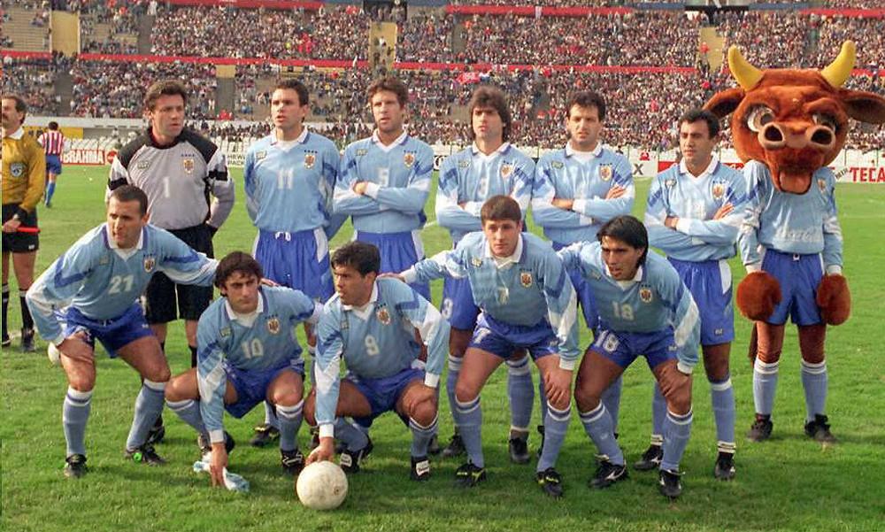 Uruguay disputó seis encuentros en el torneo. Ganó cuatro y empató 2.