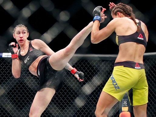 Sabina Mazo, desafío UFC