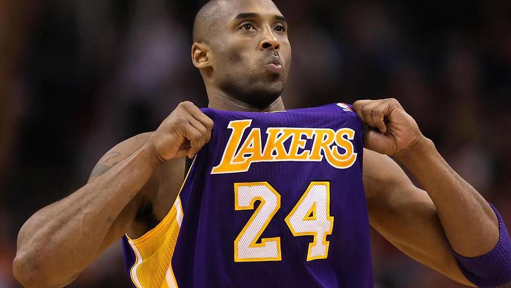 Kobe Bryany, leyenda de los Angeles Lakers