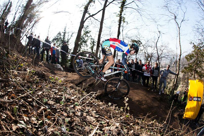 Paéz es bicampeón en MTB, un hito para el ciclomontañismo en Colombia. Crédito: leonardopaez.com