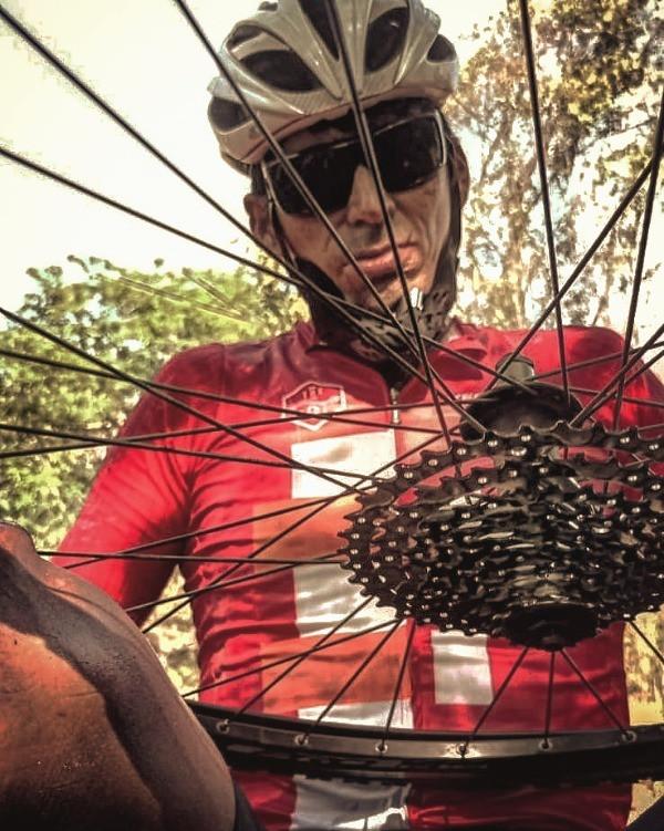El ciclismo es su motor de vida.