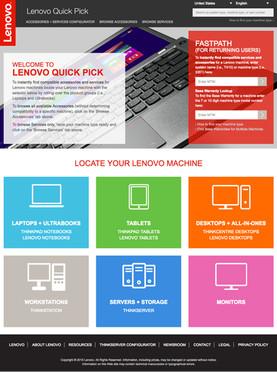 Lenovo QuickPick