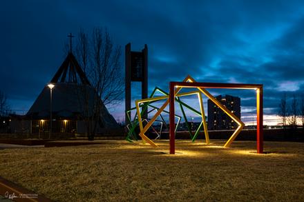 Light sculpture
