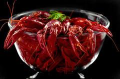 Christina Groth-Biswas Bowl of Crayfish