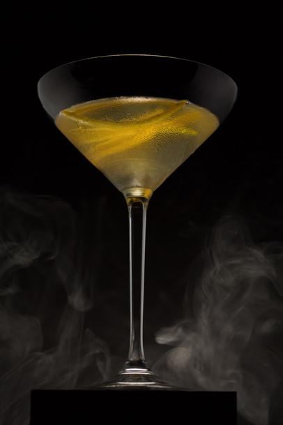 Orange vanilla martini