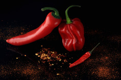 Christina Groth-Biswas - Chilli peppers