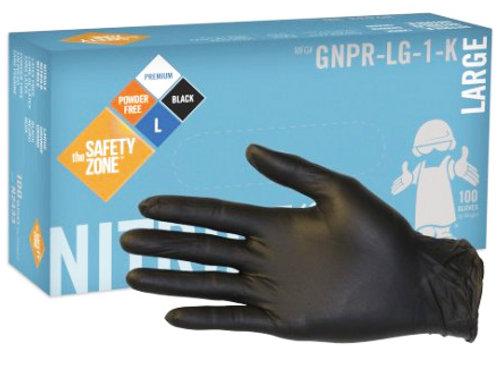 5 mil Black Nitrile Gloves
