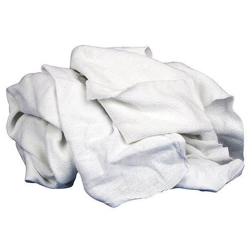 White Flannel Rags