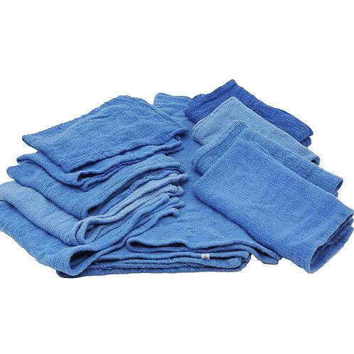 Blue Huck Towels