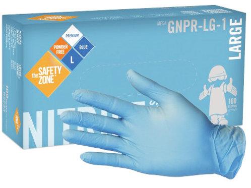 6 mil Blue Nitrile Gloves