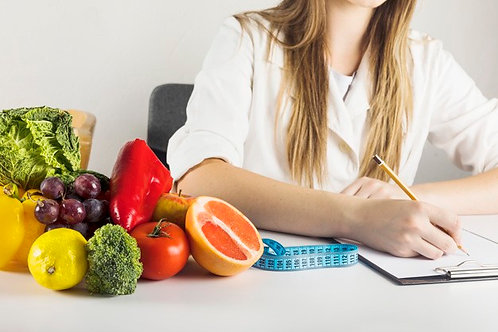 In Home Nutrition Consultation & Custom Meal Plan