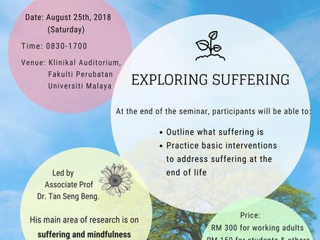 Palliative Care Suffering and Healing Seminar