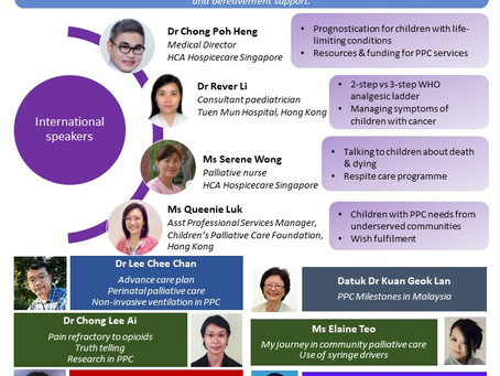 The 1st National Conference of Children's Palliative Care Malaysia