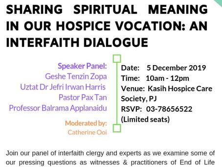 Interfaith Dialogue: Nov 2019