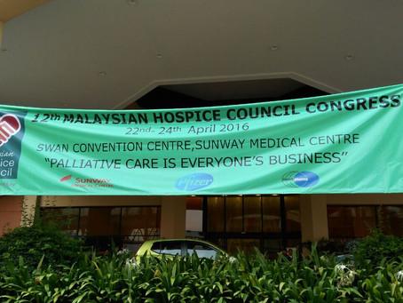 Malaysian Hospice Council Congress 2016