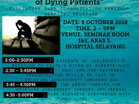 Workshop: Communication with Adolescent of Dying Patients