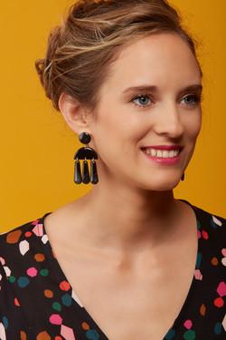 Boucles d'oreilles de Jubilé Créations