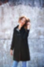 manteau yoko noir hiver