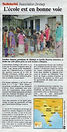 Une école en Inde : le projet est en bonne voie