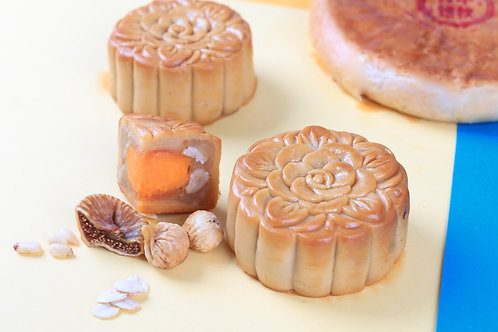 Pine Bloom Mooncake (4 pcs)