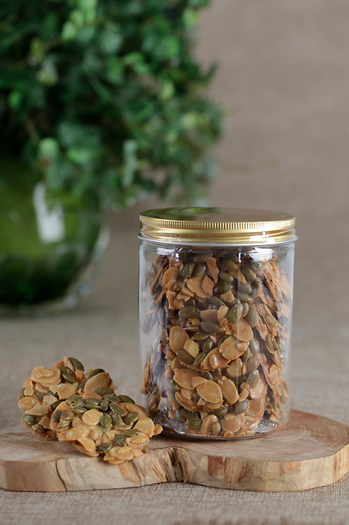 2-in-1 Almond Pumpkin Seed Crisp (250g)