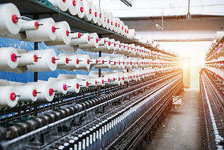 Rolls of industrial cotton fabric for cl